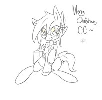 Merry Christmas CoffeeChicken by leadhooves