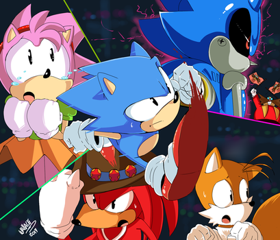 SONIC CD by wallacexteam