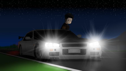 Midnight Touge II by LesterJam
