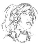 Sarah Kerrigan sketch by Andante2