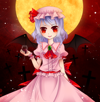 Remilia Scarlet by SuioFei
