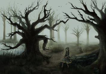 Wald by LailaRoever