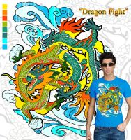 My Dragon Fight Submission by zerobriant