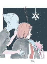 How Do You Winter Holidays in Space by tilhe