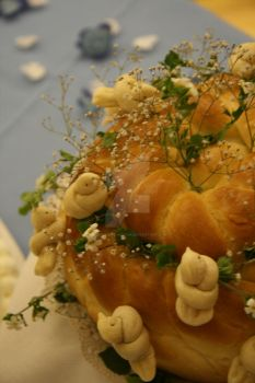 Ukraine Wedding Bread by stephannie-moran