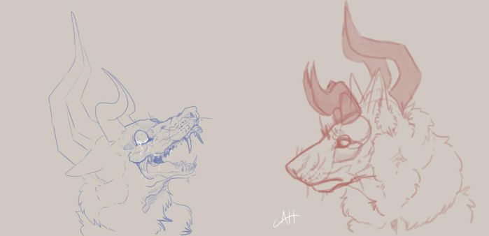 Malfurion Sketches by KANTOUK