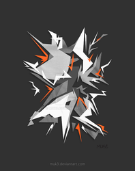 Origami Explosion by Muk3