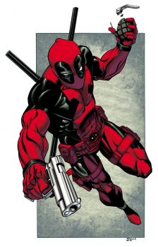 Deadpool commission colors by TheBob74