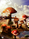 world of mushrooms by premierluis