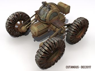 Metal blade wheels by CUTANGUS