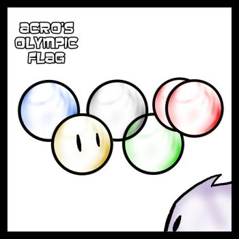 FUZZY+Acro's Olympic Flag by CentralCityTower