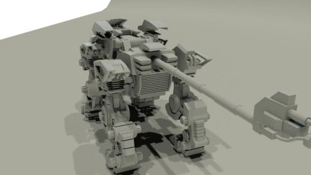 Project Liger Zero 2011 - 03 by 3DRaptor