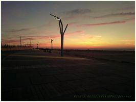 Scheveningen  sunset by swiftach