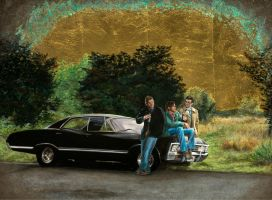 Heaven, Hell, and the Impala by hever
