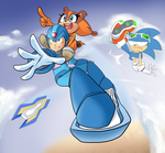Sonic NOT Riders by thegreatrouge