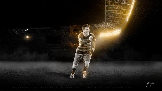 Lionel Messi - 2015 Ballon D'or by madeinjungle