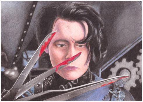 Edward Scissorhands by RainbowNatalia