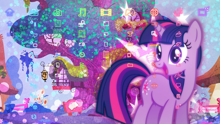My Little Pony: Friendship is Magic PS3 Theme by meanhonkey1980