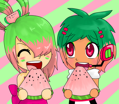 Melonen and Melonee by Mellonee