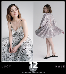 // PHOTOPACK 3886 - LUCY HALE // by censurephotopacks