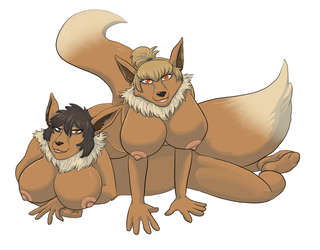 eevee babes by AshWolves5