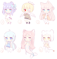[OPEN 1/6] Random adopts~ set price by Seraphy-chan
