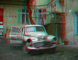 Lviv_46 2006 3D anaglyph by yellowishhaze
