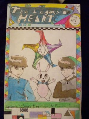 The Legacy of Heart #1 Issue Cover. by MarianoGoldheart