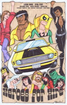 Cannonball Heroes for Hire by Gigatoast