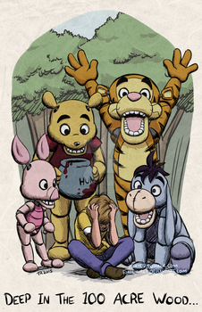 Five Nights at Pooh Bear's by forte-girl7