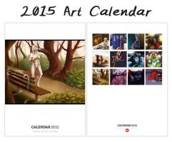 2015 Art Calendar UPDATE by Temrin