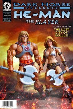 New Fake Cover: He-man The Slayer by ittoogami