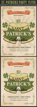 Saint Patrick's Day Flyer Template by Hotpindesigns