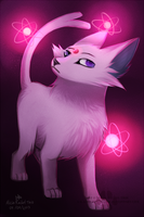 Espeon by DOLFIY