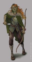 DnD - Wood Elf by Finf
