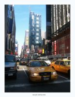 trafic in nyc by blackmamba-11