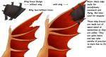 Wing base design ref by Redwolfless