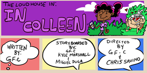 Loud House  Title Card- In Colleen by spongefox