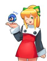 1-UP For You, Megaman by Cessa