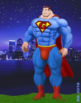 Superguy  by Blathering