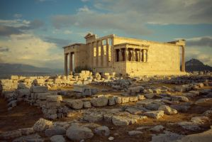 Greece - Acropolis - Erechtheion - 01 by GiardQatar