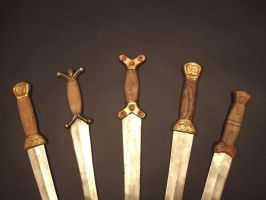 Celtic Swords by Tobias-Dawson