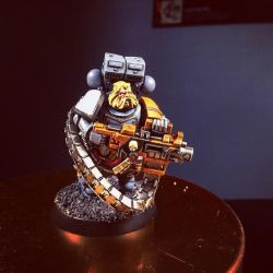 Space Wolf Long Fang (Prepped for my Kill Team) by Freedog22