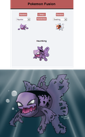 Hauntking (Pokemon Fusion) by Radiant-Lyxill