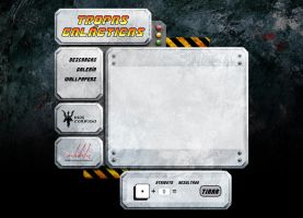 Tropas Galacticas web page by maledictus