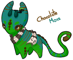 #27 Katragoon - Chocolate Moss [CUSTOM] by KatAkillus