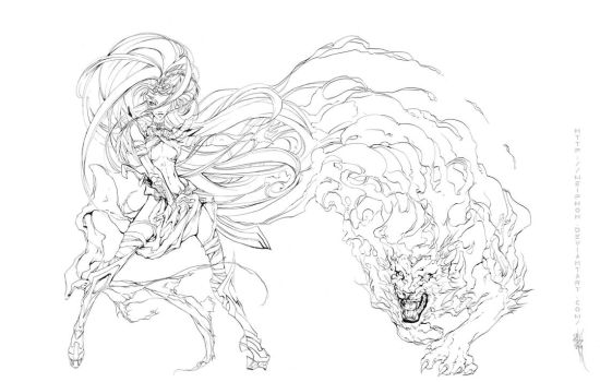 Sekhmet is gonna bust your face by Meiphon