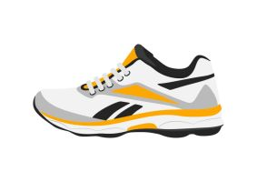 Sport-shoe-flat-vector-illustration by superawesomevectors