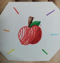 Practice Apple (Marker Edition) by KittyLilyHeart