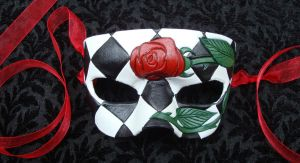Romantic Rose Mask One by merimask